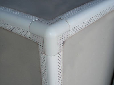 Bullnose Corner Bead Is Solid Amp Durable For Neat Corner